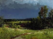 Перед грозой, 1884 - Шишкин, Иван Иванович