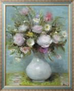 Розы в вазе - Диф, Марсель