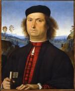 Портрет Франческо делла Опере - Перуджино, Пьетро