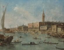 Венеция - Дворец Дожей и Моло - Гварди, Франческо