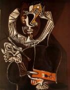 Портрет художника Эль Греко, 1950 - Пикассо, Пабло