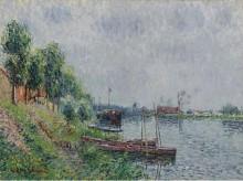 Берега реки, Уаз, 1900 - Луазо, Гюстав