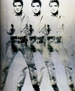 Тройной Элвис (Triple Elvis), 1962 - Уорхол, Энди