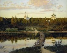 Тихая обитель. 1890 - Левитан, Исаак Ильич