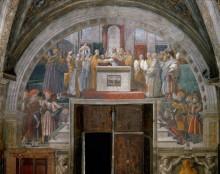 Станца Пожар в Борго: Присяга папы Льва III - Рафаэль, Санти