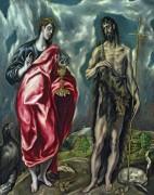 Святые Иоанн Богослов и Иоанн Креститель - Греко, Эль