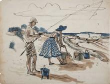 Пляж - Сарноф, Артур