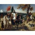 Марокканский шах навещает свой клан - Делакруа, Эжен