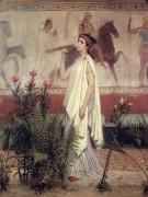 Женщина из Греции - Альма-Тадема, Лоуренс