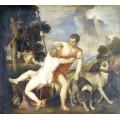Венера и Адонис, 1554 - Тициан Вечеллио