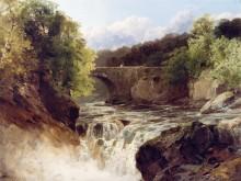 Водопад рядом с  Нит, Южный Уэльс - Смит, Джон Брендон