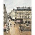 Улица Сент-Оноре после полудня. Дождь, 1897 - Писсарро, Камиль