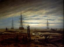 Суда на якоре, 1815 - Фридрих, Каспар Давид