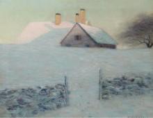 Снежный день -  Харрисон, Лоуэлл Бирге