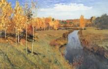 Золотая осень. 1895 - Левитан, Исаак Ильич