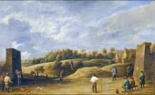 Состязание лучников, 1648 -  Тенирс, Давид