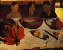 Еда, натюрморт с бананами, 1891 - Гоген, Поль