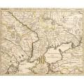 Карта Украины 1745