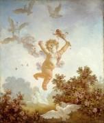 Расцвет любви: Амур - балагур - Фрагонар, Жан Оноре