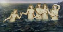 Морские нимфы - Морган, Эвелин де