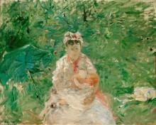Мать с ребенком - Моризо, Берта