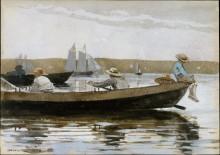 Мальчики в рыбацкой лодке - Хомер, Уинслоу