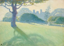 Пересекая владения (Across the Domain), 1918 - Манген, Анри