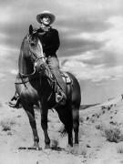 Джон Уэйн на коне