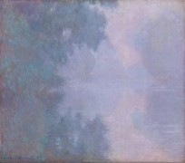 Утро на Сене, 1897 - Моне, Клод