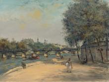 Институт Франции и мост Искусств - Рафаэлли, Жан Франсуа