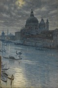 Пейзаж в лунном свете, Венеция - Пойнтер, Эдвард Джон