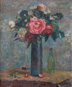 Натюрморт с цветами - Валле, Людовик