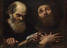 Святые Антоний и Франциск Ассизский - Сакки, Андреа