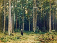 В лесу графини Мордвиновой. Петергоф - Шишкин, Иван Иванович