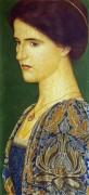 Фьямметта (Портрет Джорджии Гаскин) - Гаскин, Артур