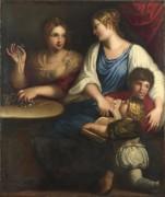 Корнелия и ее сыновья - Падованино (Алессандро Варотари)