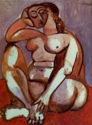 Обнаженная женщина, 1956 - Пикассо, Пабло
