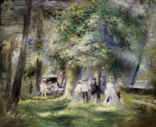 В парке Сен-Клу - Ренуар, Пьер Огюст