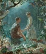 Гермия и Лизандр («Сон в летнюю ночь») - Симмонс, Джон