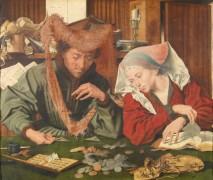 Ростовщик с женой, 1539 - Реймерсвале, Маринус ван