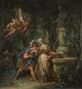 Джейсон присягает в вечной привязанности к Медее -  Труа, Жан-Франсуа де