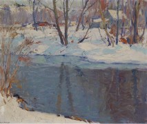 Ручей зимой - Групп, Эмиль Альберт