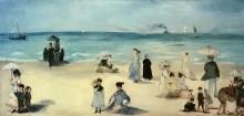 Пляж в Булони - Мане, Эдуард