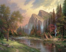 Горы, возвещающие Его славу - Кинкейд, Томас