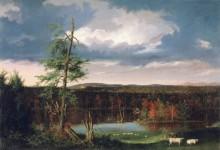 Пейзаж с имением мистера Фэншо на горизонте - Коул, Томас