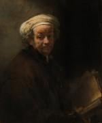 Автопортрет в образе апостола Павла - Рембрандт, Харменс ван Рейн