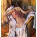 После ванны,1892 - Дега, Эдгар