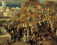Арабские фестиваль в Алжире - Ренуар, Пьер Огюст