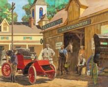 Первая мастерская автосервиса Хейнс-Апперсон, 1902