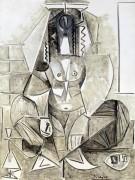 Алжирка - Пикассо, Пабло